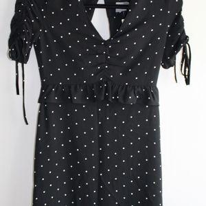 Asos Polka Dot Mini Dress size 0